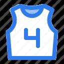 ball, basket, basketball, game, jersey, shirt, sport icon