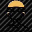 headband, player, sport, sweat, training icon