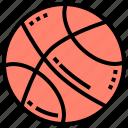 leather, equipment, ball, sport, basketball