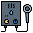 boiler, heater, water icon