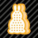 bath, form, layer, rabbit, shampoo, thermometer, tool icon