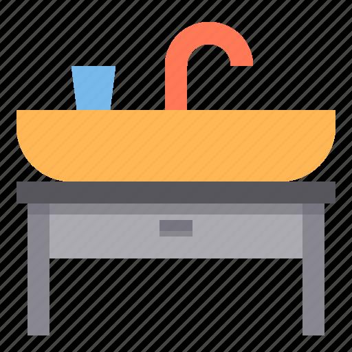 basin, bath, bathroom, hygiene, rest, wash icon