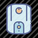 geyser, heater, hot, water icon