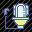 flush, restroom, sanitary, toilet