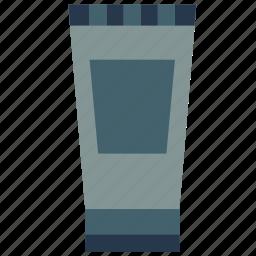 bathroom, gel, hair, objects icon
