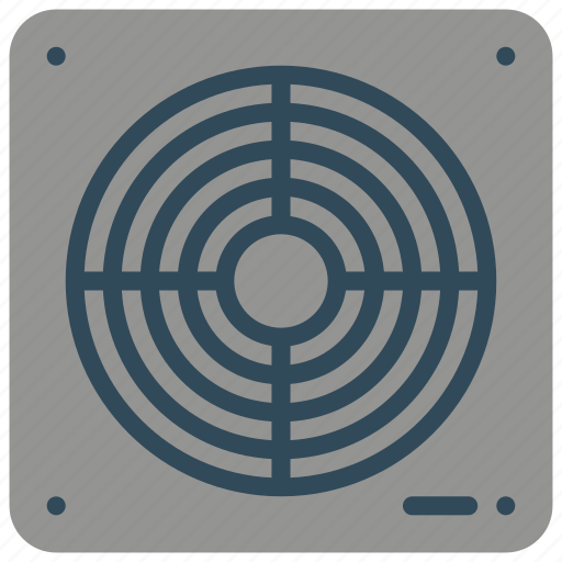 bathroom, extractor, fan, objects icon