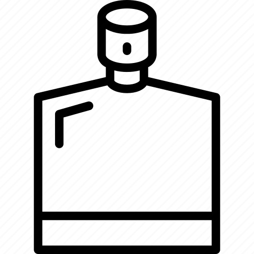 aftershave, bathroom, beauty, bottle, grooming, outline, shave icon