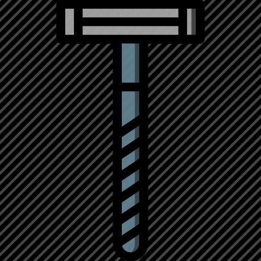 bathroom, color, grooming, male, razor, shaving, ultra icon