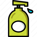 bathroom, clean, color, handwash, wash icon