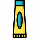 bathroom, color, dental, oral, toothpaste icon