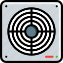 bathroom, color, extraction, extractor, fan icon