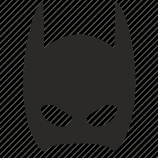 bat, batman, child, mask, skin, young icon
