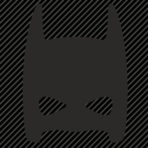 batman, face, half, hero, mask, skin icon