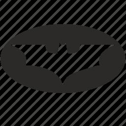 batman, form, round, signal icon