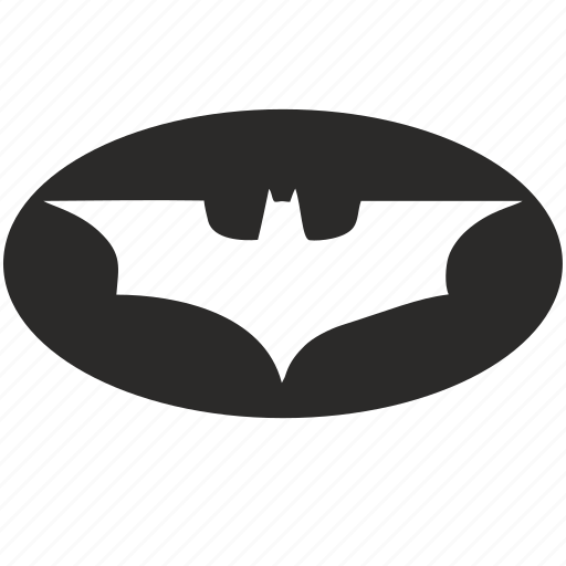 batman, form, round, signal icon