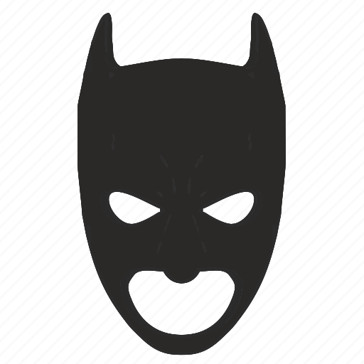 batman, mask, skin icon