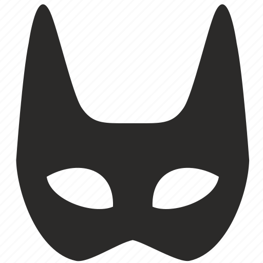 batman, face, half, mask, skin, woman icon