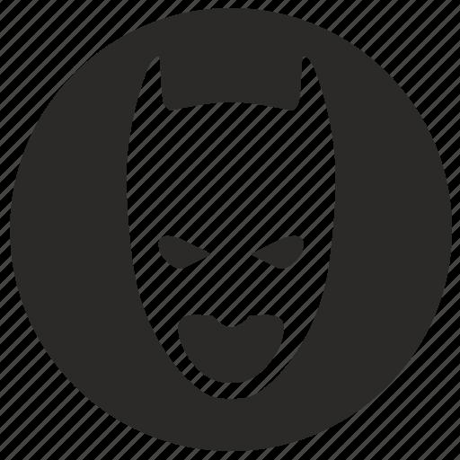 batman, form, mask, round, skin icon