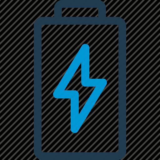 battery, bolt, charge, charging, energy, razor icon