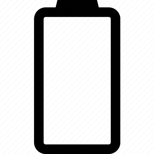 battery, electricity, empty, low icon