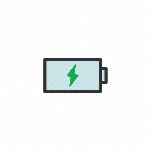 Powering, power, battery, charge, bolt, infinicon, charging icon