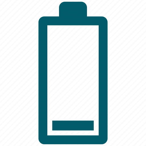 battery, battery status, level, low status icon