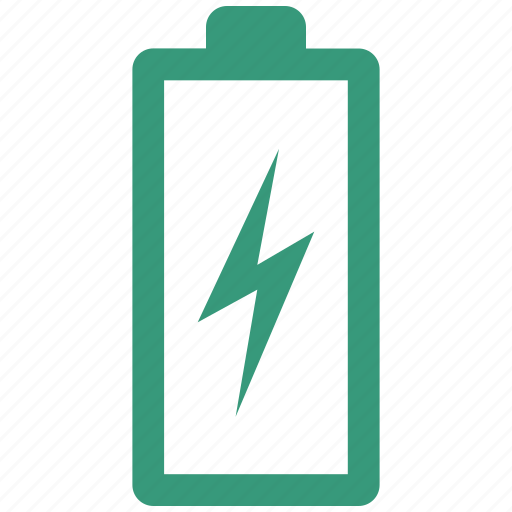 battery, charging, simple icon
