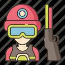 gun, pubg, war, weapon icon