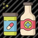 hospital, medicine, painkiller, pill