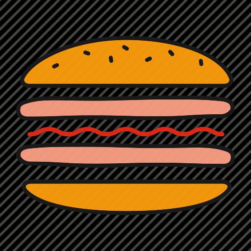 burger, cheeseburger, cooking, fast food, hamburger, sandwich icon