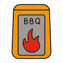 barbecue, barbeque, bbq, charcoal, coal, fire, grill icon