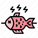 fish, food, gastronomy, grill icon