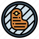 barbecue, food, grilled, steak icon