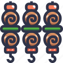 barbecue, barbecue grill, bbq, food, kebab icon