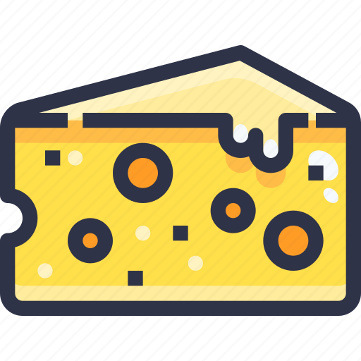 Cheese, food, slice icon - Download on Iconfinder