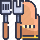 cokking, cook, cooking, equipment icon