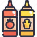 barbecue grill, bbq, food, kebab, sauce icon