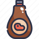 barbecue grill, barbeque, bbq, food, kebab, sauce icon