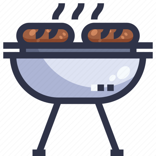 Barbecue grill, bbq, food, grilled, kebab, meat icon - Download on Iconfinder