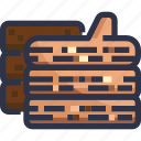 bbq, firewood, wood icon