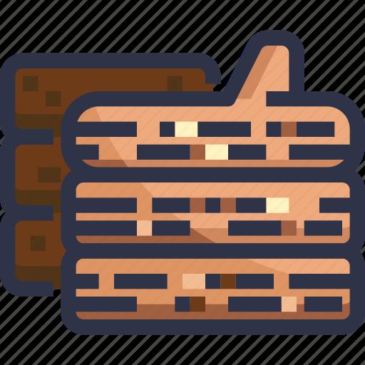 bbq, firewood, wood icon