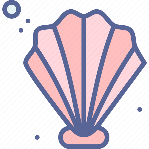 beach, pearl, sea, shell icon