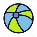 ball, beach, holiday, picnic, summer, tour, vacation icon