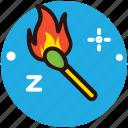 ablaze, flaming fire, ignition, matchbox, matchstick