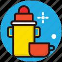 kitchen utensil, tea thermos, thermos, travelling thermos, vacuum bottle