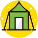 adventures and camping, camping, inflatable camp, outdoor stay, tent icon