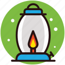 camping lantern, dormer, fire lantern, traditional flashlight, vintage lantern icon
