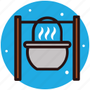 campfire cooking, campfire grilling, camping food, grilled food, outdoor cooking icon