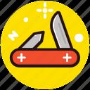 folding knife, jack knife, knife, pocket knife, utility knife