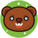 soft toy, stuffed toy, teddy bear, teddy face, toy icon